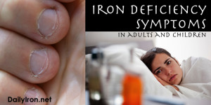 Iron Deficiency Symptoms